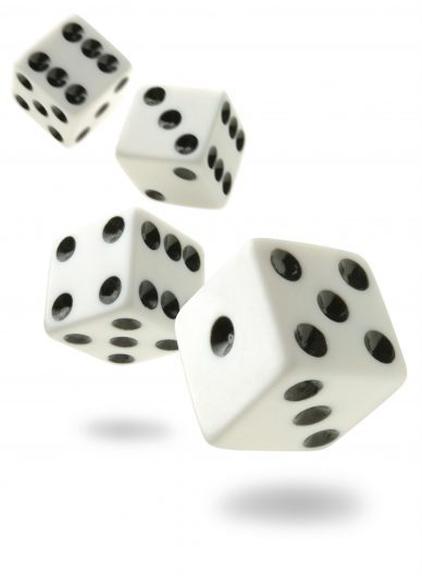 One Number Four Dice